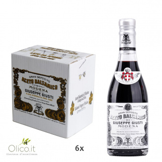 Balsamic Vinegar of Modena PGI 1 Silver Medal 250 ml x 6