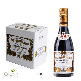 """Vinagre Balsámico de Modena IGP 2 Medallas de Oro """"Il Classico"""" 250 ml x 6"""