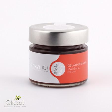 Gelatina di Vino Marsala DOP 180 gr