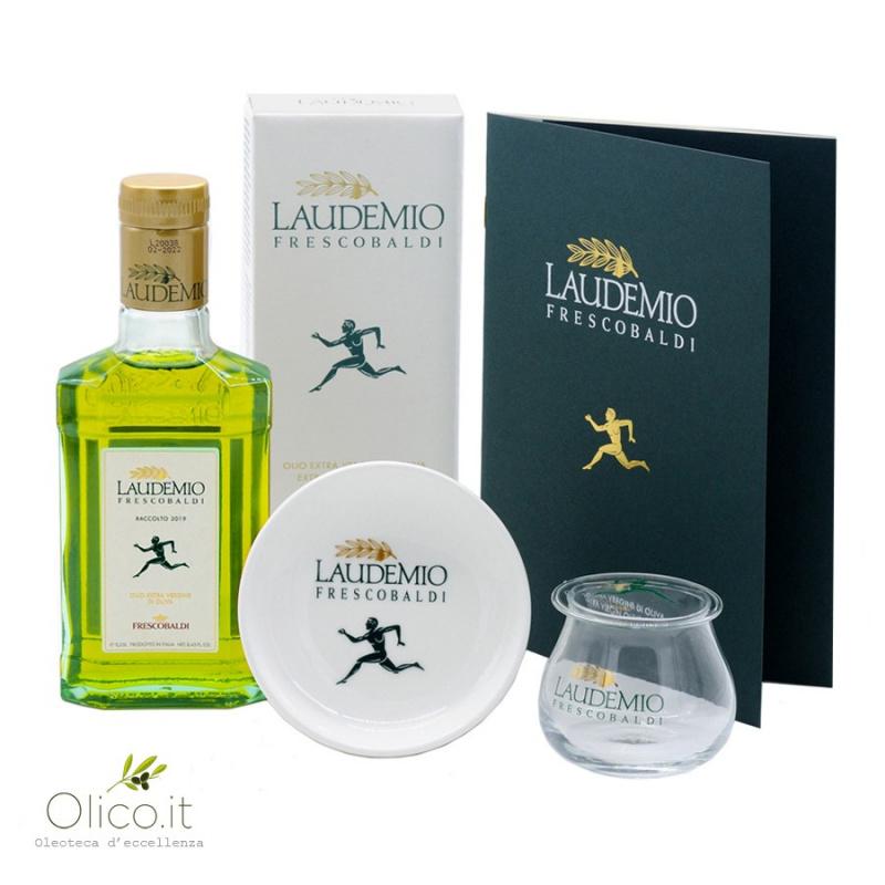 Set Dégustation Huile Extra Vierge d'Olive Laudemio Frescobaldi 250 ml