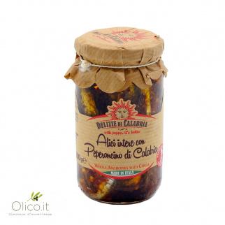 Sardellen mit Chilipfeffer 140 gr