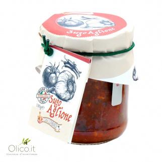"""""""Aglione"""" salsa con tomate y ajo 180 gr"""