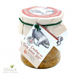 Crostini Sauce with Cinta Senese PDO 180 gr