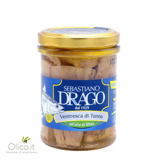 "Tuna belly fillets in olive oil ""Riserva Oro"""