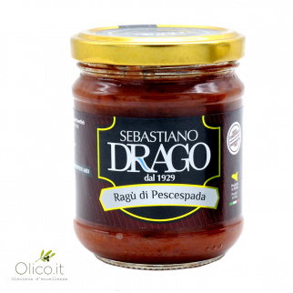Sauce au Ragoût d'Espadon 190 gr