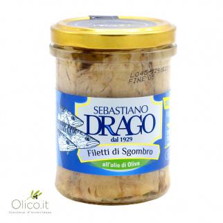 Filets de Maquereau à l'Huile d'Olive 200 gr