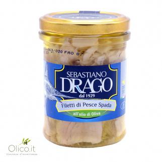 Swordfish fillets in olive oil 200 gr