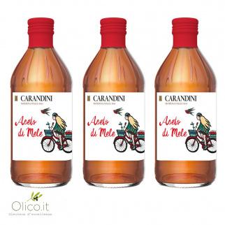 Tris Aceto di Mele Carandini 500 ml x 3
