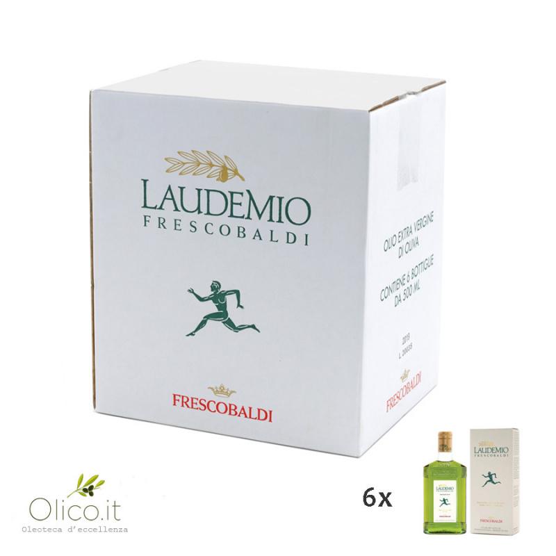 Olio Extra Vergine di Oliva Laudemio Frescobaldi 500 ml x 6