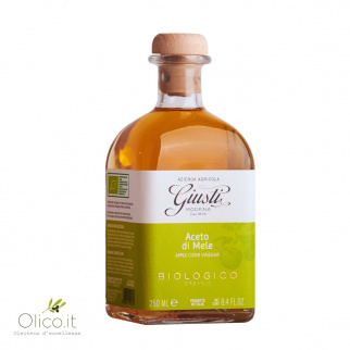 Aceto di Mele Biologico Giusti 250 ml