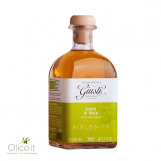 Vinaigre de Pomme Biologique Giusti 250 ml