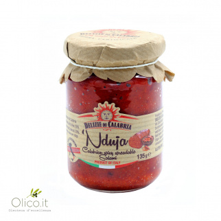'Nduja Calabrian Spicy Spreadable Salami from Spilinga 135 gr