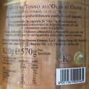 """Filets de Thon Riserva Callipo """"Centenario"""" avec Coffret en Bois 820 gr"""