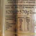 """Tuna fish fillets Riserva Callipo """"Centenario"""" in Wooden Box 820 gr"""