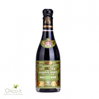 Organic Balsamic Vinegar of Modena PGI 3 Gold Medals 250 ml