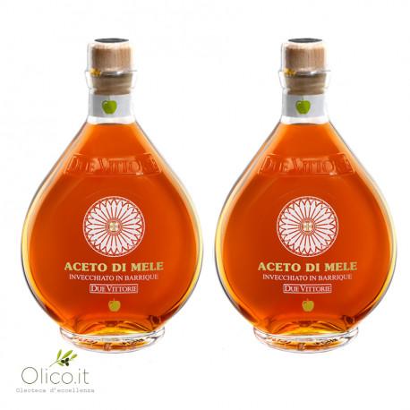 Bis Aceto di Mele Due Vittorie Invecchiato in barrique 500 ml x 2