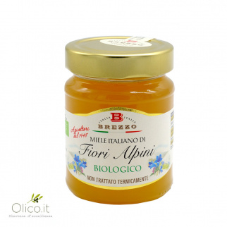 Organic Alpine Flowers Honey