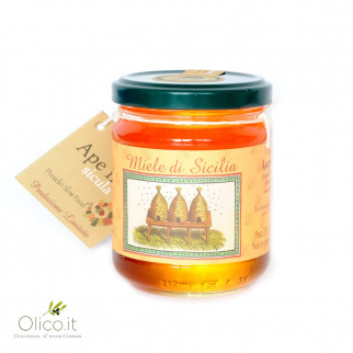 Medlar Honey Sicilian Black Bee 250 gr