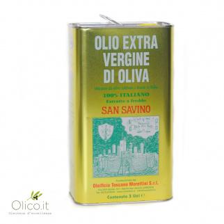 Extra Virgin Olive Oil San Savino 3 lt