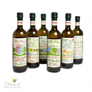Huile d'Olive Extra Vierge Olio di Casa Anfosso 750 ml