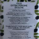 Olio Extra Vergine di Oliva Denocciolato Monocultivar Coratina