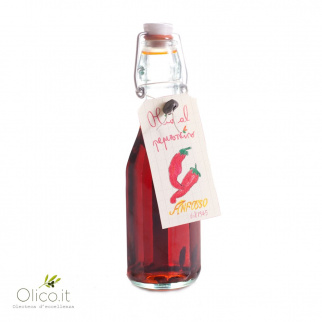 Huile d'Olive Extra Vierge aromatisée au Piment