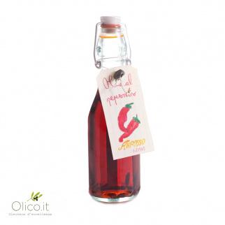Olio Extra Vergine di Oliva Aromatizzato al Peperoncino