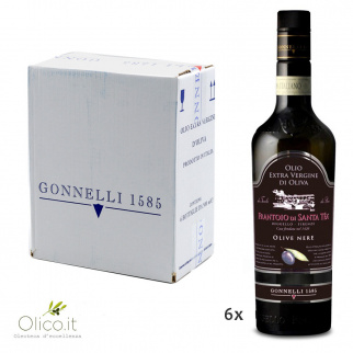 Extra Virgin Olive Oil Black Olives 500 ml