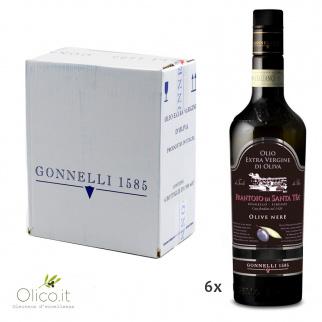 Olio Extra Vergine di Oliva Raccolta di Olive Nere 500 ml