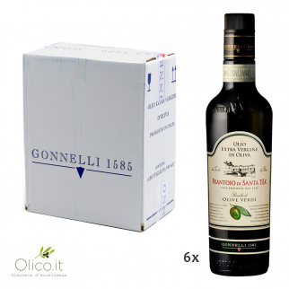 Huile Extra Vierge d'Olive Récolte Olives Vertes 500 ml