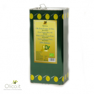 Organic Extra Virgin Olive oil from Sardegna 5 lt