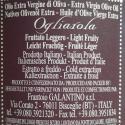 Huile d'Olive Extra Vierge Monovariétale Ogliarola