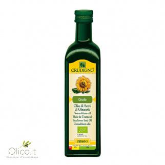 Biologische Zonnebloemolie 750 ml
