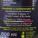 Huile Extra Vierge d'Olive Superbo 100% Moraiolo Quattrociocchi