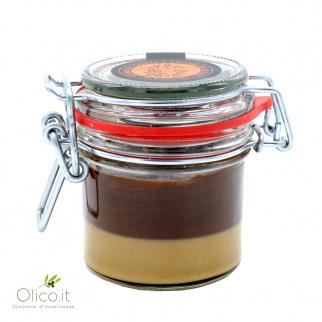 Crème bi-goût au Gianduia et Noisette 100 gr