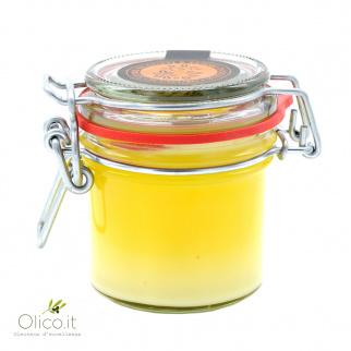 Crema doble gusto naranja y limón 100 gr