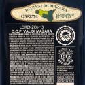 "Olio Extra Vergine di Oliva Biologico Lorenzo N° 3, DOP ""Val di Mazara"""