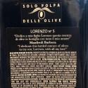 Olio Extra Vergine di Oliva Denocciolato Monocultivar Nocellara Lorenzo N° 5