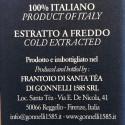 Giusti y Santa Tea Set: Vinagre Balsámico de Módena IGP 3 Medallas Oro 250 ml y Aceite de Oliva Virgen Extra Laudemio 500 ml