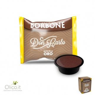 50 Capsules Caffè Borbone GOUD Mix geschikt voor Lavazza A Modo Mio*