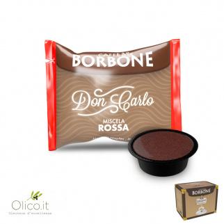 100 Capsules Caffè Borbone ROOD Mix geschikt voor Lavazza A Modo Mio*