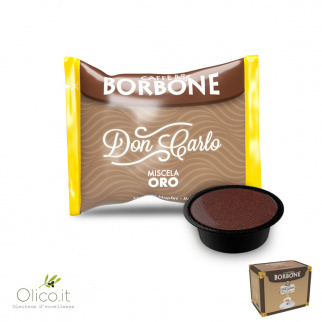 100 Capsules Caffè Borbone GOUD Mix geschikt voor Lavazza A Modo Mio*