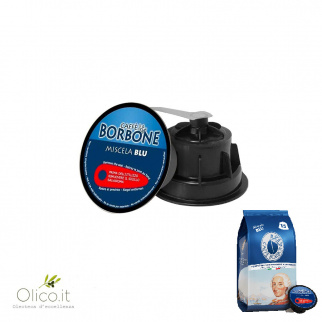 15 BLUE Blend Capsules Borbone Coffee Compatible Dolce Gusto*