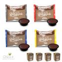 Set degustazione Borbone: 200 capsule compatibili Lavazza a Modo Mio* miscele assortite