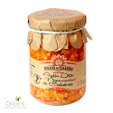 Garlic, oil and calabrian hot pepper condiment