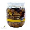 Olives Taggiasche Dénoyautées à l' huile Extra Vierge d'olive