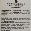 Dressing with Balsamic Vinegar of Modena PGI and Honey