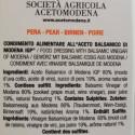 Dressing with Balsamic Vinegar of Modena PGI and Pear