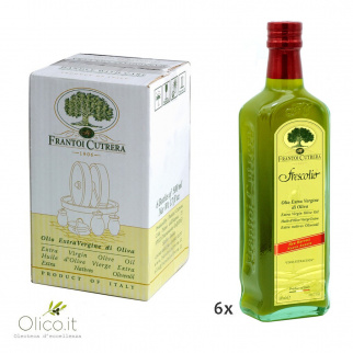 Huile d'Olive Extra Vierge Novello Frescolio Cutrera 500 ml x 6