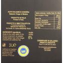 Aceto Balsamico di Modena IGP Due Vittorie Oro Bag in Box 3 lt e bottiglia con tappo dosatore 250 ml